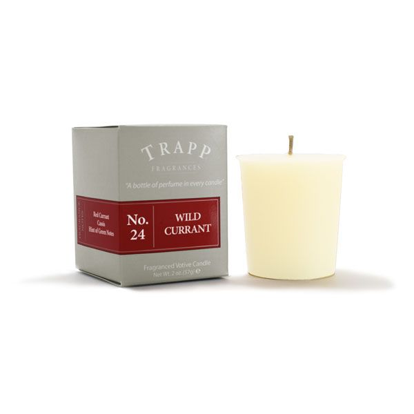 No 24 Wild Currant - 2oz Votive Candle | Trapp Candles