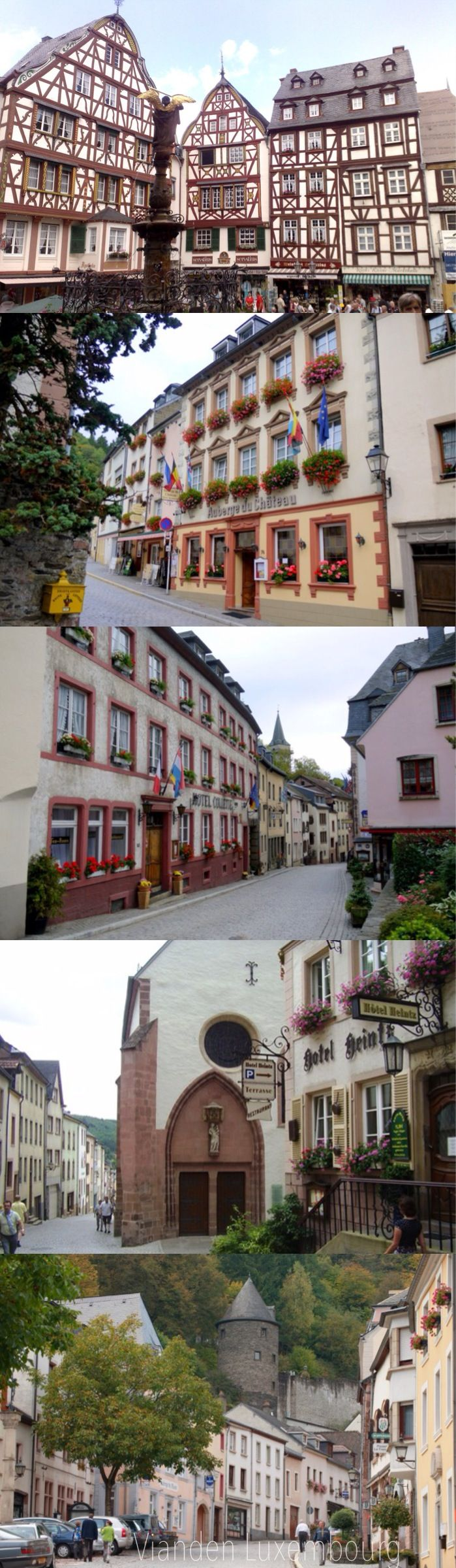 Luxembourg Vianden in Luxembourg