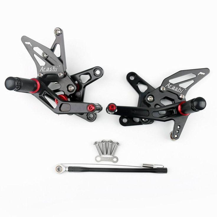 Mad Hornets - Rear Set Foot pegs Kawasaki ZX6R ZX 6R (2007-2008) Black, $199.99 (http://www.madhornets.com/rear-set-foot-pegs-kawasaki-zx6r-zx-6r-2007-2008-black/)