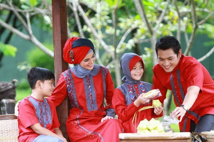 Tips Memilih Baju Muslim Keluarga untuk Lebaran