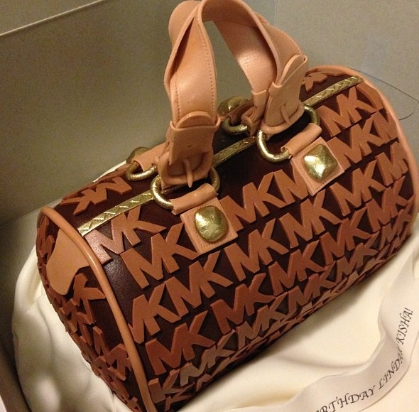 Edible Cake Images Michaels : Michael Kors cake! Edible shoes and bags Pinterest ...