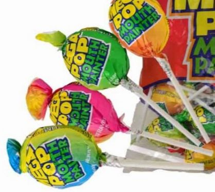 Mega Mouth Lollipop Painters  Lolly Mail is an online chocolate gifts and lolly gifts delivery service. Pick a jar size and fill it with their favourite lollies and chocolate, over 100+ varieties to choose from. Free Delivery.