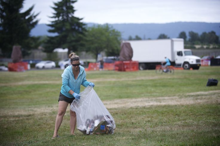 fireworks behind the show | from Woodland High School helped clean up the mess left behind ...