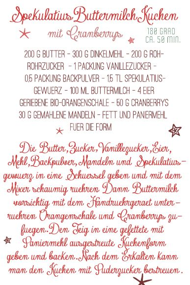 Spekulatius Buttermilch Kuchen (Spiced Buttermilk Cake) #Christmas #cake #recipe