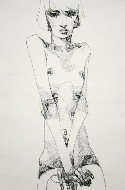stylized life drawing (Lucong)