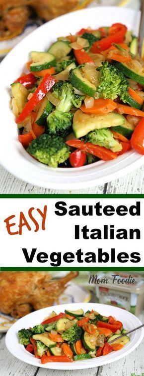Easy Sauteed Italian Vegetables Recipe