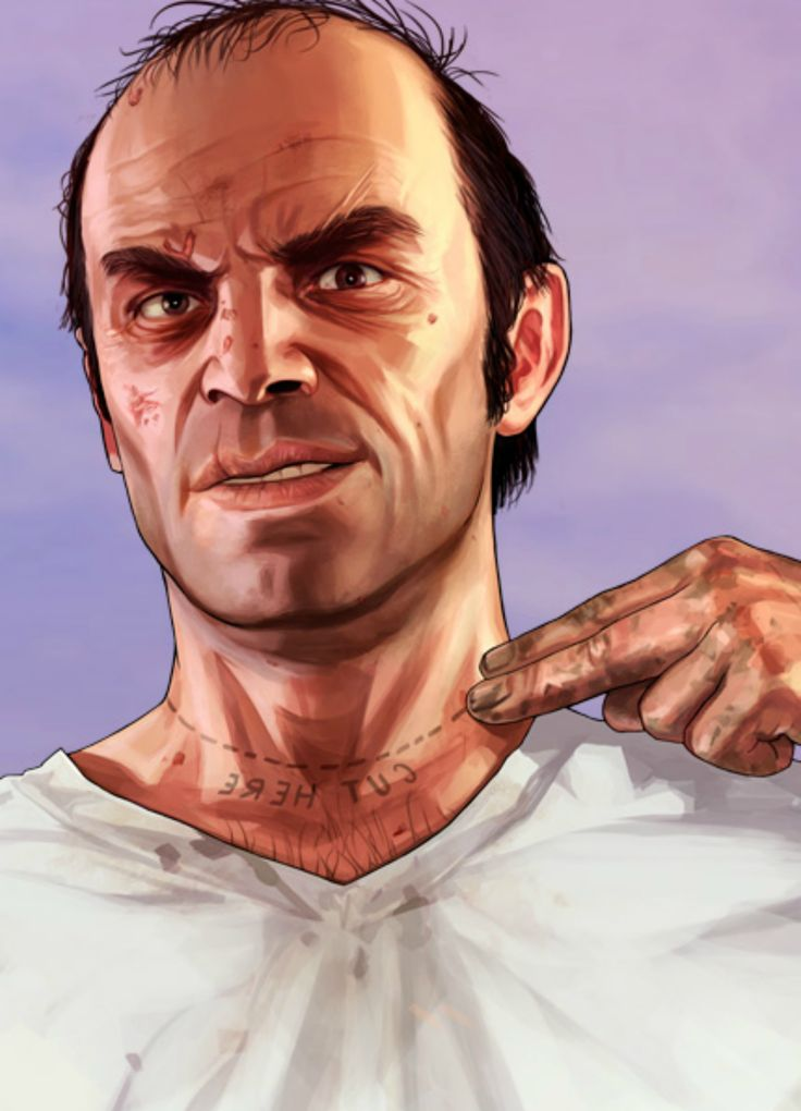 Trevor Philips GTA V ----CUT HERE------