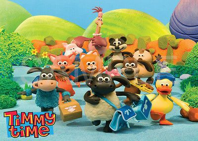 TIMMY TIME KIDS ROOM POSTER A3 POSTER PRINT YF1074