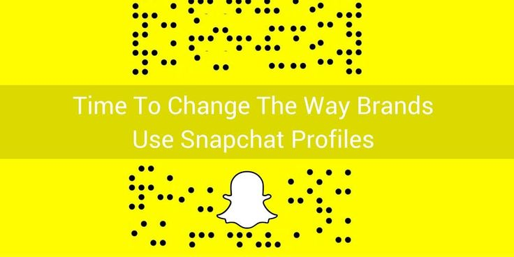 Time To Change The Way Brands Use Snapchat Profiles