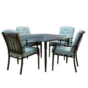 Martha Stewart Living, Avondale Sonora Sage 5 Piece Dining Patio  Set DISCONTINUED,