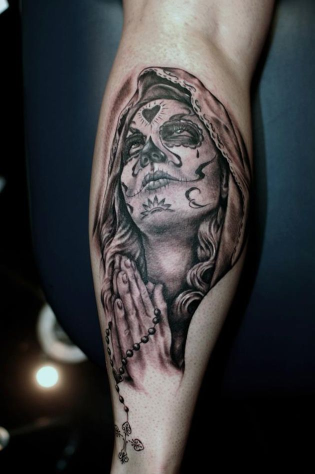 day of the dead tattoos 13