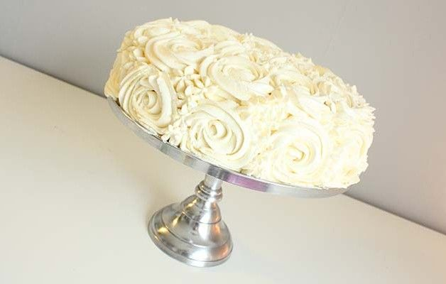Rose Cake / Rosekake / Chocolate Cake / Sjokoladekake / Vanilla ...