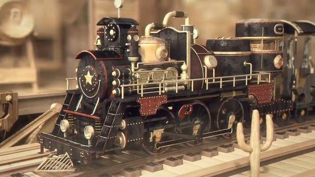 Credits:  CG Modelling - Texturing - Illumination - Rendering - Animation…