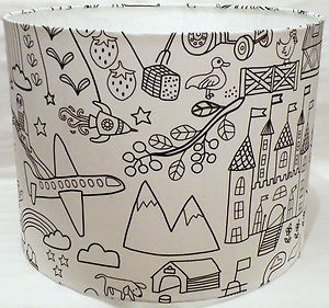 123 best cute childrens lampshades nursery lighting ideas images black and white nursery lampshade mozeypictures Images