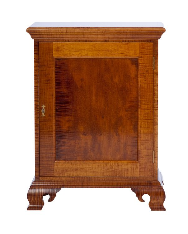 Drake Front Highboy   Len Dwinell Maker Of Period Reproduction Furniture  Chester County .