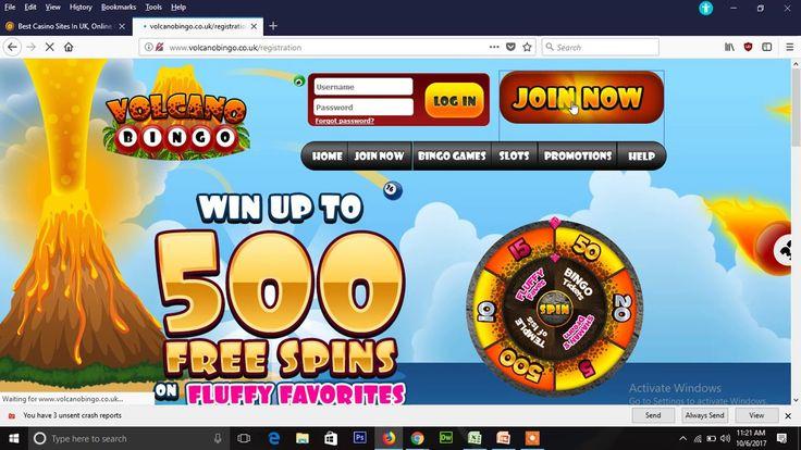 Play volcano bingo throw all casino site
