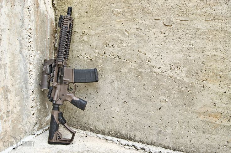 A Daniel Defense Mk18 in MIL-SPEC+ with an Elcan SpectreDR. |CLYDE ARMORY|