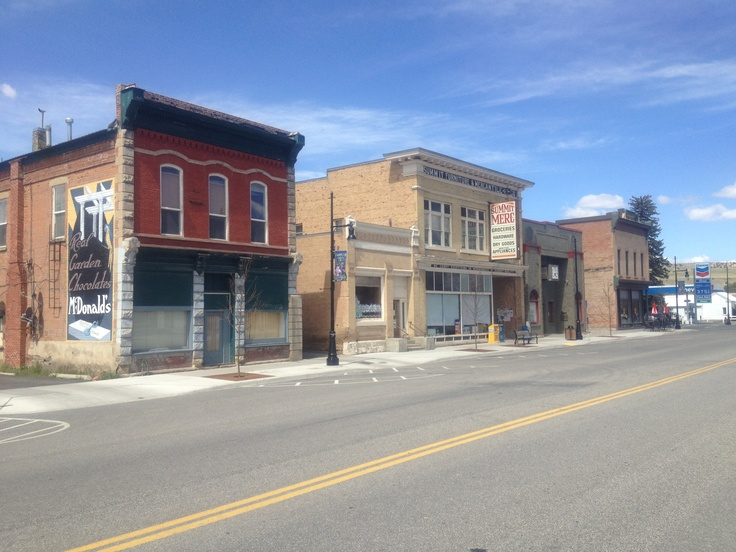 Downtown Coalville, Utah...oh how I miss you