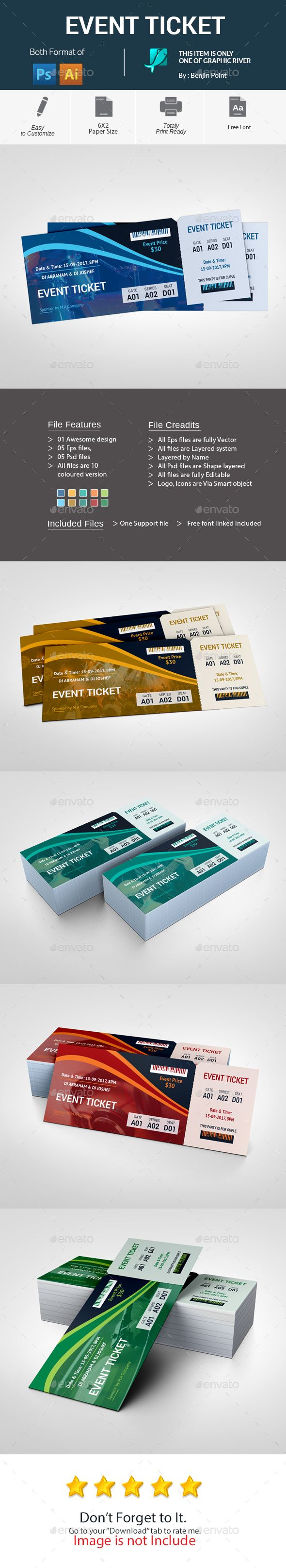 best 25 event tickets ideas on pinterest ticket design ticket and event ticket template. Black Bedroom Furniture Sets. Home Design Ideas