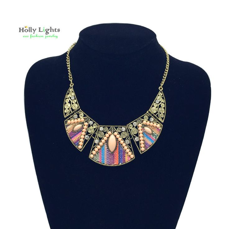 2017  women fashion bohemian necklace&pendants modern hippie vintage big name choker necklace tribal ethnic boho mujer accessory