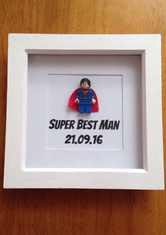 Superhero Best man/usher/page boy by GingerLimeCranswick on Etsy
