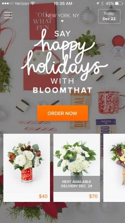 BloomThat - The best way to send flowers Screenshots