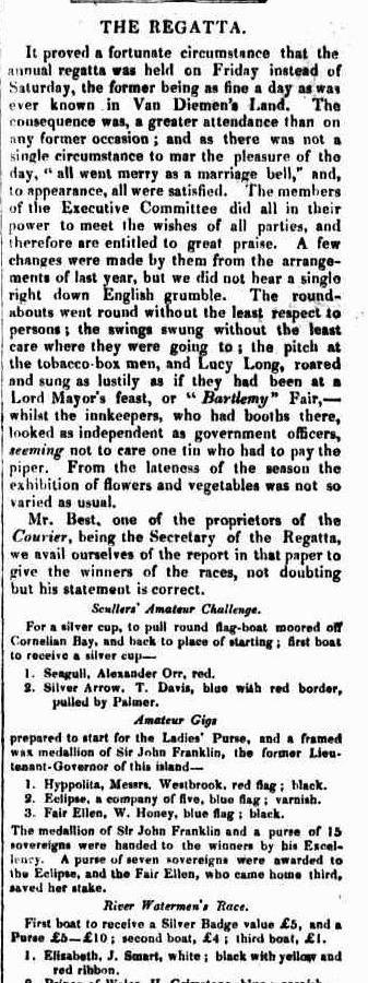 Britannia and Trades' Advocate (Hobart Town, Tas. : 1846 - 1851), Thursday 6 December 1849, page 2