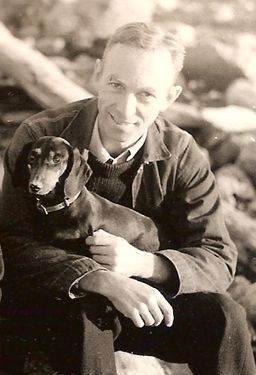 """E. B. White on the Role and Responsibility of the Writer   Brain Pickings - """"Writers do not merely reflect and interpret life, they inform and shape life.""""Writing A Book, Eb White, Dogs, New Yorker, Charlotte Web, E B, Dachshund Dog, Writers, Charlotte'S Web"""