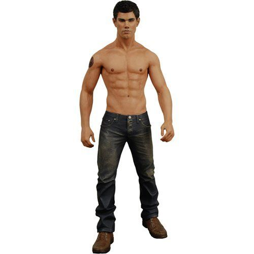 "Twilight New Moon ""Jacob Black"" 7"" Action Figure by NECA. $15.99. From the Manufacturer                Twilight New Moon ""Jacob"" 7"" Action Figure.                                    Product Description                Twilight New Moon ""Jacob"" 7"" Action Figure.Features include: •Twilight Saga•Articulated Figure•From the Hit Sequel ""New Moon""•High quality detail•High quality from NECA"