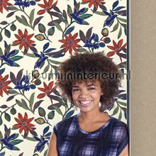 Planten en kolibries klassiek behang JW3736 Mix and Match Behang Expresse