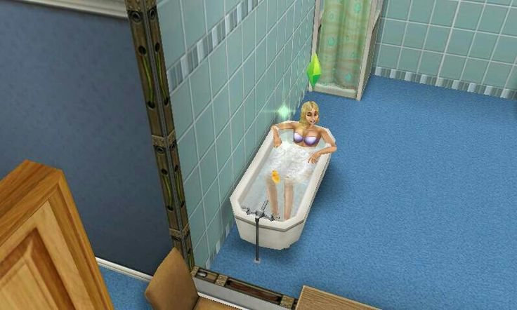 My quick dip in the tub