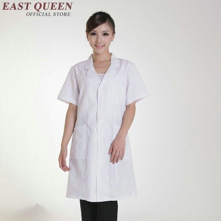 Hospital uniforms woman medical scrubs women white  uniforms for nurses 2016 short sleeve hospital nurse uniform  AA877