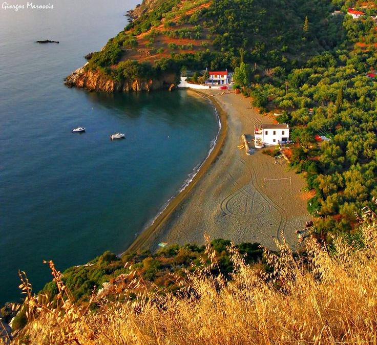 Beautiful beach in Kynouria, Arcadia ~ Peloponnese