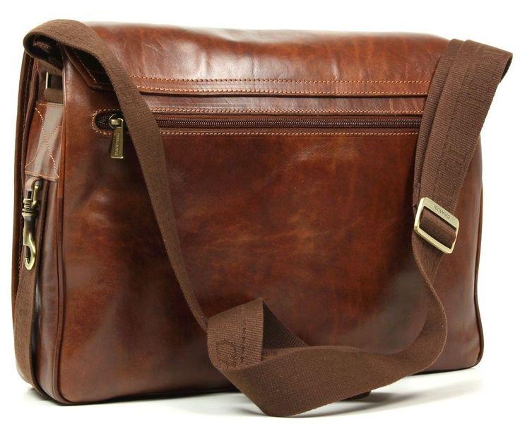 Chiarugi borsa uomo in pelle con tracolla italian leather men bag with shoulder   eBay
