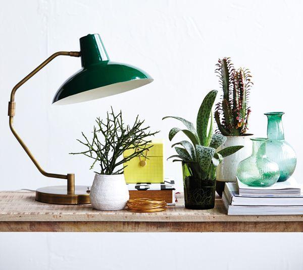 House Doctor House Doctor Tafellamp 'Desk'groen
