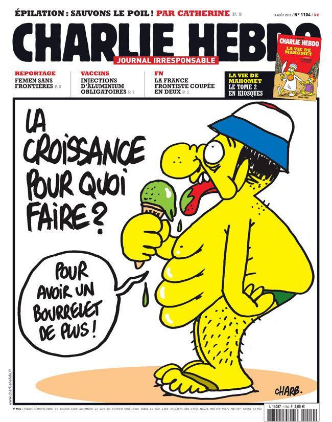 La Une de la semaine du 14 août 2013 | Charlie Hebdo