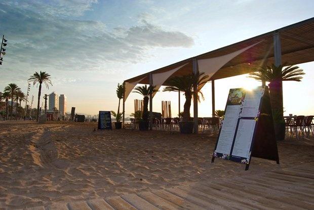 Chiringuito del Sol, Barceloneta Beach