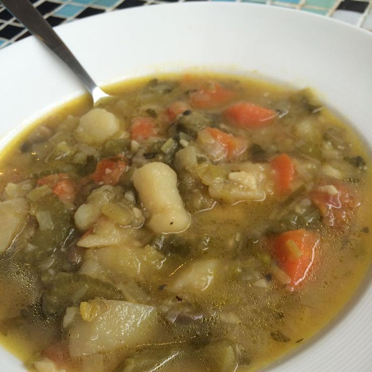 My super yummy vegetable soup