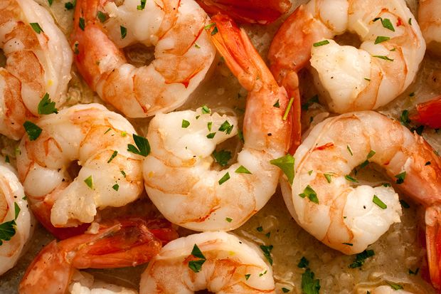 Basic Shrimp Scampi: Caesar Salad, Shrimp Recipe, Basic Shrimp, Butter Shrimp, Shrimp Dishes, Garlic Shrimp, Garlic Butter, Risotto Recipe, Shrimp Scampi Recipe