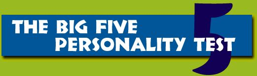 Big Five Personality Test. I quasi-agree, but I don't think I'm disagreeable or not open to new experiences.