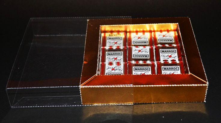 Caja Acetato Transparente Para Bombones/cookies X 10 Uni - $ 130,00 en MercadoLibre