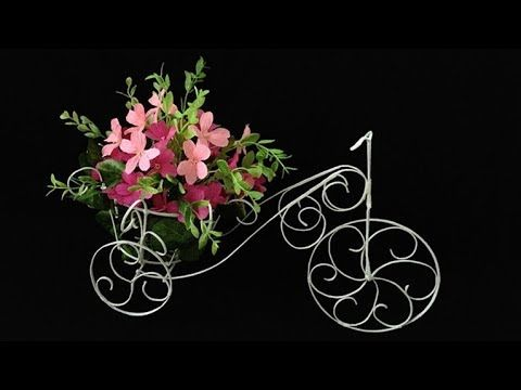 ABC TV | How To Make Flower Bike From Zinc Wire - Craft Tutorial #1 - YouTube