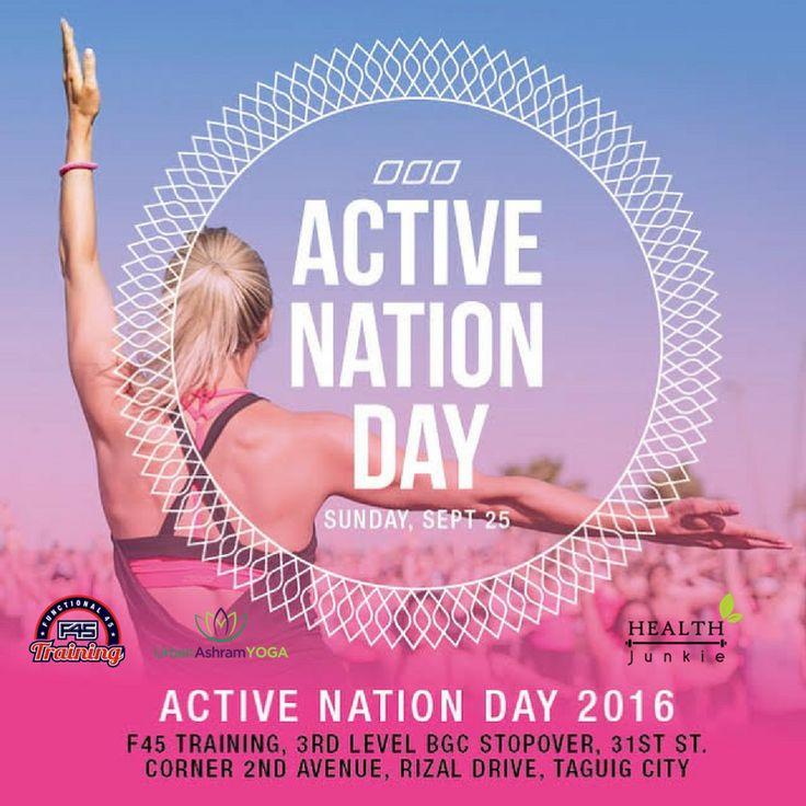 #LornaJane Active Nation Day 2016! :)
