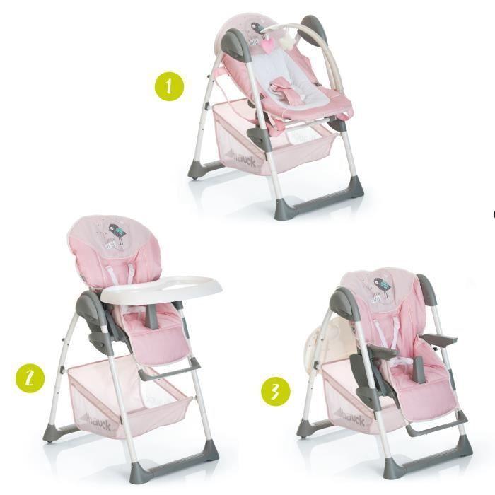 Hauck Chaise Haute Evolutive 2 En 1 Sitn Relax Birdie In 2020 Baby Stuffed Animals Chaise Relax