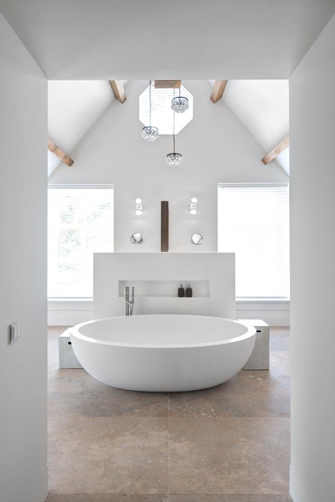 25 beste idee235n over vrijstaand bad op pinterest