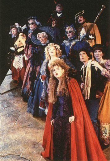"""""""The giant's a WOMAN!!!"""" Into the Woods, starring Bernadette Peters."""
