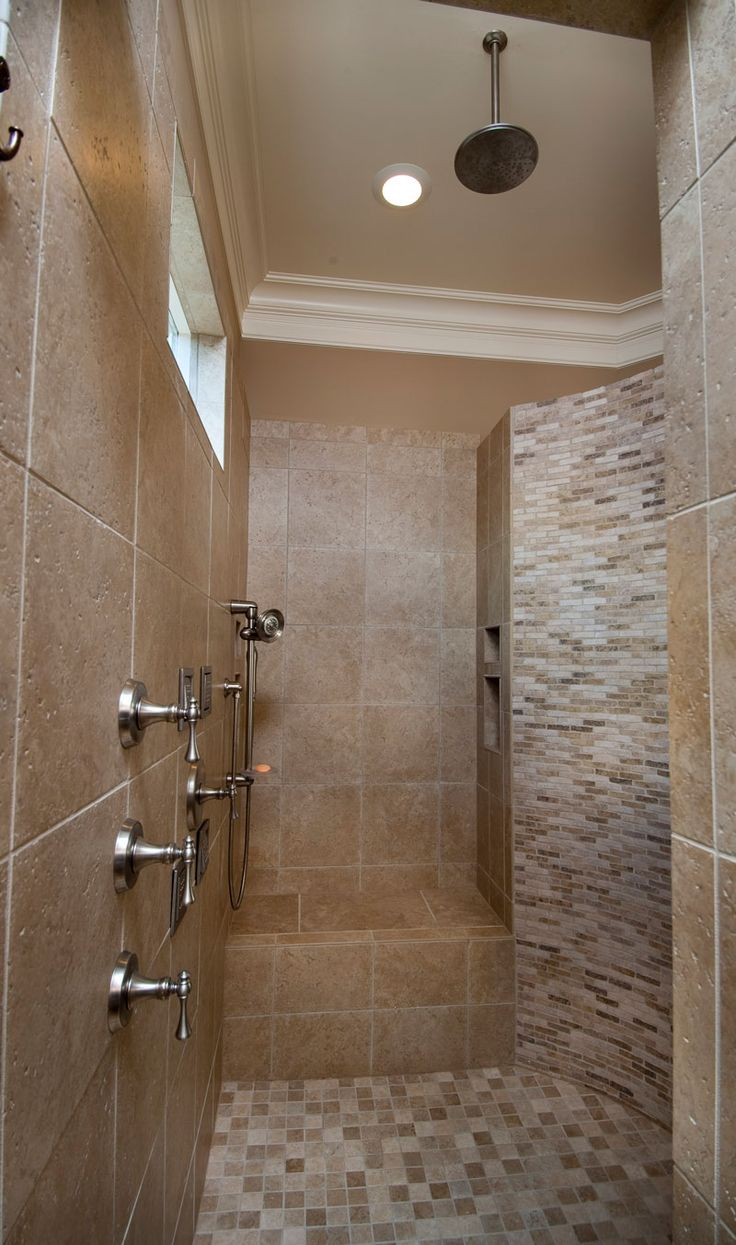 Image On New House for the New Year European style Tile ShowersBathroom