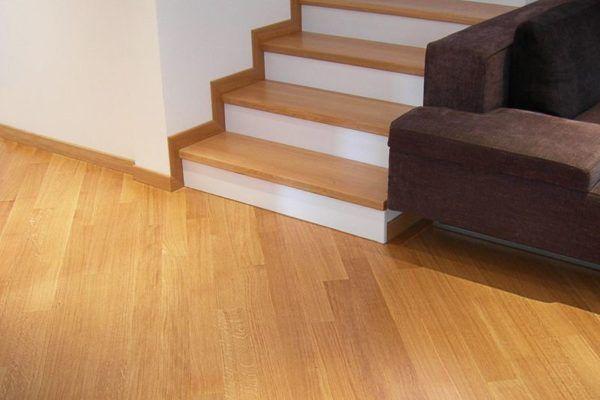 Cómo colocar tarima flotante en nuestro piso: Escaleras