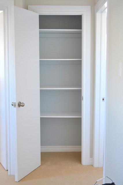 How To Build/update A Linen Closet.