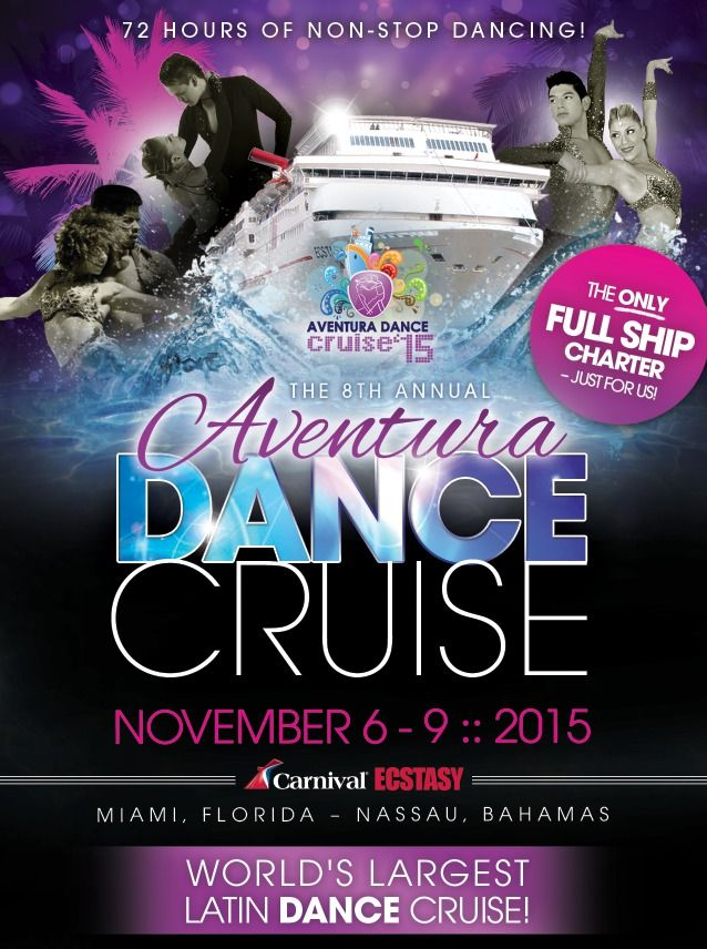 World's Largest Latin Dance Cruise! http://ht.ly/L8GFu